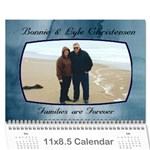 mom and dad - Wall Calendar 11  x 8.5  (12-Months)