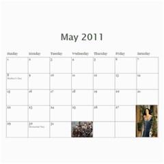 Lotr Calendar By Andie   Wall Calendar 11  X 8 5  (12 Months)   Rncmi9w3l8rz   Www Artscow Com May 2011