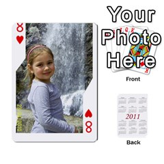 Cards22 By Diana   Playing Cards 54 Designs   6y0tvbogq9mn   Www Artscow Com Front - Heart8