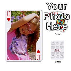 Cards22 By Diana   Playing Cards 54 Designs   6y0tvbogq9mn   Www Artscow Com Front - Heart10