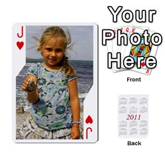Jack Cards22 By Diana   Playing Cards 54 Designs   6y0tvbogq9mn   Www Artscow Com Front - HeartJ