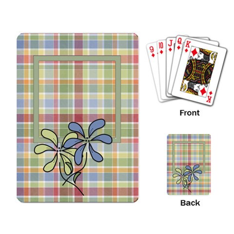 Playing Cards Falderal By Lisa Minor   Playing Cards Single Design   Sml73lj96xnm   Www Artscow Com Back