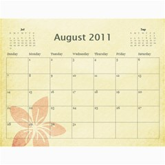 2011 Calendar By Lmw   Wall Calendar 11  X 8 5  (12 Months)   6gjlptpa0v6i   Www Artscow Com Aug 2011