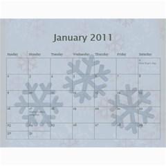 2011 Calendar By Lmw   Wall Calendar 11  X 8 5  (12 Months)   6gjlptpa0v6i   Www Artscow Com Jan 2011