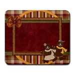 Mouse Pad-Gingy Holiday - Large Mousepad