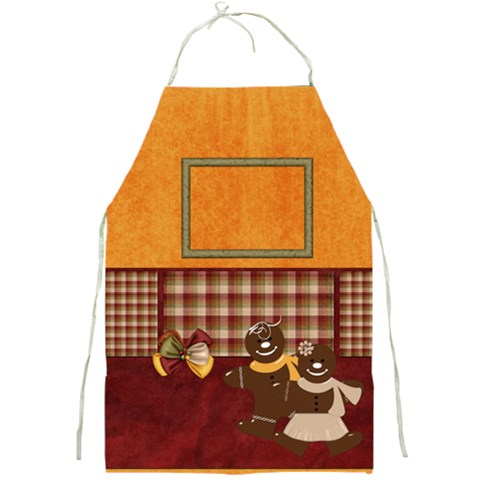 Apron Gingy Holiday By Lisa Minor   Full Print Apron   Vrsihidmc32e   Www Artscow Com Front