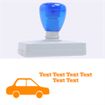car - Rubber Address Stamp (XL)