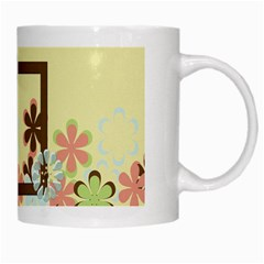 Mug Spring Blossoms 1001 By Lisa Minor   White Mug   0tts693p1vij   Www Artscow Com Right