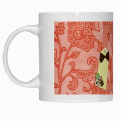 Mug Spring Blossoms 1002 By Lisa Minor   White Mug   Kvee6lb64664   Www Artscow Com Left