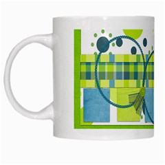 Mug Bluegrass Boy 1001 By Lisa Minor   White Mug   Zaty1n0xvduz   Www Artscow Com Left