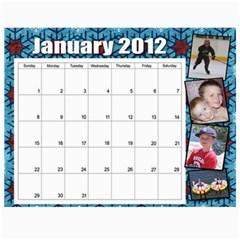 2011 2012 Calendar By Cari Wozniak   Wall Calendar 11  X 8 5  (12 Months)   Gtp6in37h4yy   Www Artscow Com Month
