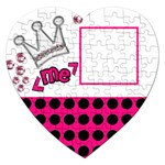 Princess - Puzzle - Jigsaw Puzzle (Heart)