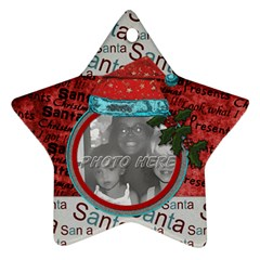 By Brookieadkins Yahoo Com   Star Ornament (two Sides)   Zx2rzavv6hvf   Www Artscow Com Back