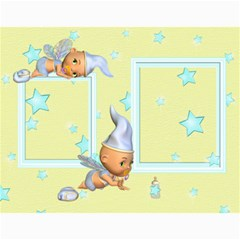 Baby s First Year By Snackpackgu   Wall Calendar 11  X 8 5  (12 Months)   2j3o6p4bxus5   Www Artscow Com Month