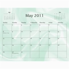 Baby s First Year By Snackpackgu   Wall Calendar 11  X 8 5  (12 Months)   2j3o6p4bxus5   Www Artscow Com May 2011
