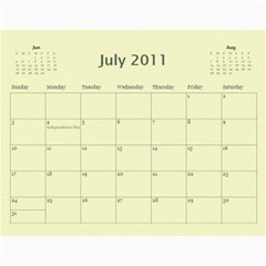 Baby s First Year By Snackpackgu   Wall Calendar 11  X 8 5  (12 Months)   2j3o6p4bxus5   Www Artscow Com Jul 2011
