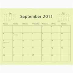 Baby s First Year By Snackpackgu   Wall Calendar 11  X 8 5  (12 Months)   2j3o6p4bxus5   Www Artscow Com Sep 2011