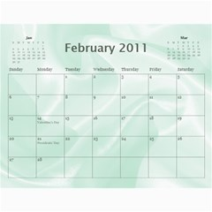 Baby s First Year By Snackpackgu   Wall Calendar 11  X 8 5  (12 Months)   2j3o6p4bxus5   Www Artscow Com Feb 2011