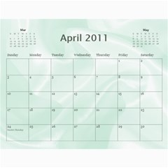 Baby s First Year By Snackpackgu   Wall Calendar 11  X 8 5  (12 Months)   2j3o6p4bxus5   Www Artscow Com Apr 2011