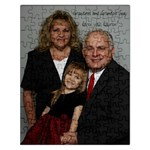 Gma Gpa Lauren puzzle 2009 - Jigsaw Puzzle (Rectangular)