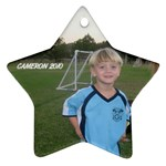 Cameron ornament - Star Ornament (Two Sides)