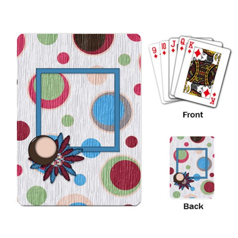 Playing Cards Bloop Bleep 1001 By Lisa Minor   Playing Cards Single Design   5piog7emuhe7   Www Artscow Com Back
