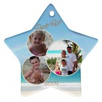 Puerto Rico - Ornament (Star)