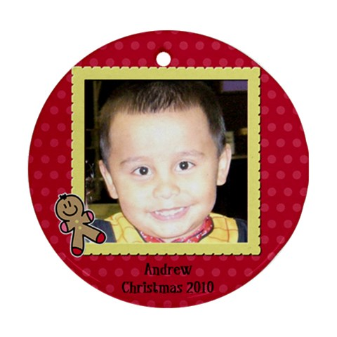 Andrew2010 By Leslie   Ornament (round)   02shpp02pw39   Www Artscow Com Front
