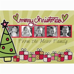 Present Card By Martha Meier   5  X 7  Photo Cards   Owjd2u7wzqte   Www Artscow Com 7 x5 Photo Card - 6