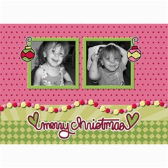 Ornament Christmas Card By Martha Meier   5  X 7  Photo Cards   P9odnscjw7nj   Www Artscow Com 7 x5 Photo Card - 7