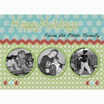happy holidays Christmas card - 5  x 7  Photo Cards