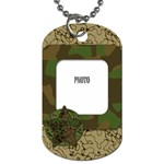 Cammo Tag - Dog Tag (One Side)