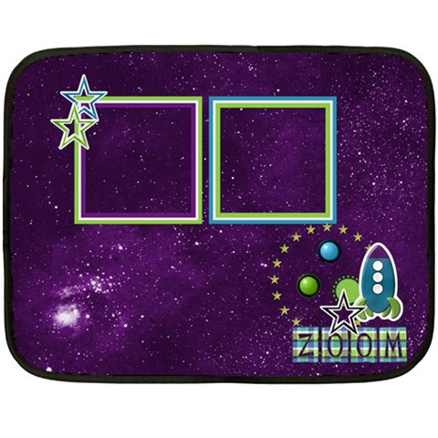 Blanket A Space Story 1001 By Lisa Minor   Fleece Blanket (mini)   3qf0naoqk90x   Www Artscow Com 35 x27 Blanket