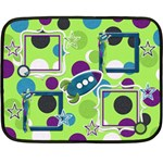 Blanket-A Space Story 1004 - Mini Fleece Blanket
