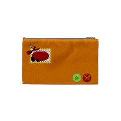 Cosmetic Bag Miss Ladybugs Garden 1001 By Lisa Minor   Cosmetic Bag (small)   J07guc27i7f3   Www Artscow Com Back