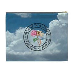 The Sky Is The Limit Xl Cosmetic Bag By Lil    Cosmetic Bag (xl)   Ag3890au09ke   Www Artscow Com Back