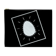Bw Poor Egg By Joyce   Cosmetic Bag (xl)   Li20r9vbrkhg   Www Artscow Com Front