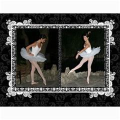 Ballerina Calendar By Tracy Gardner   Wall Calendar 11  X 8 5  (12 Months)   Svys7gwwut7v   Www Artscow Com Month