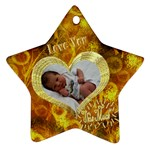 Love You This Much G0LD2 - Ornament (Star)