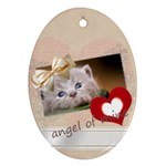 angel of mine - Ornament (Oval)