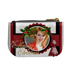 Xmas By Joely   Mini Coin Purse   J88wm3e4jppr   Www Artscow Com Back