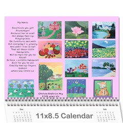 Bea s Paintings 2010 By Leannlhee Ang   Wall Calendar 11  X 8 5  (12 Months)   044d0rmajnie   Www Artscow Com Cover