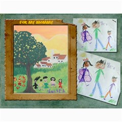 Bea s Paintings 2010 By Leannlhee Ang   Wall Calendar 11  X 8 5  (12 Months)   044d0rmajnie   Www Artscow Com Month