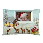 Here Comes Santa Pillow1 - Pillow Case