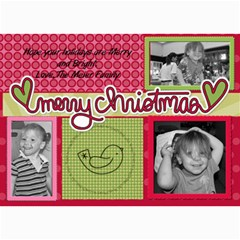 Collage Card By Martha Meier   5  X 7  Photo Cards   Nqm2x0ou2ryx   Www Artscow Com 7 x5 Photo Card - 1