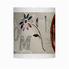 Pretty Mom Mug By Lil    White Mug   An261tyv3wgr   Www Artscow Com Center