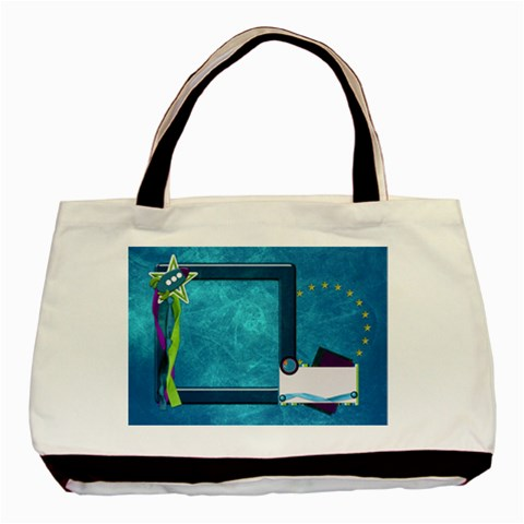 Tote A Space Story 1002 By Lisa Minor   Basic Tote Bag   Iugof14tewpg   Www Artscow Com Front