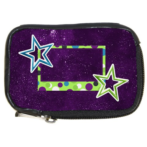 Camera Bag A Space Story 1003 By Lisa Minor   Compact Camera Leather Case   2h3n0itumw0d   Www Artscow Com Front