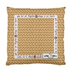 Pet Memorial Pillow - Standard Cushion Case (One Side)