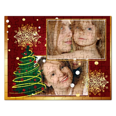 Christmas By Wood Johnson   Jigsaw Puzzle (rectangular)   Jqxbh1pwgze9   Www Artscow Com Front